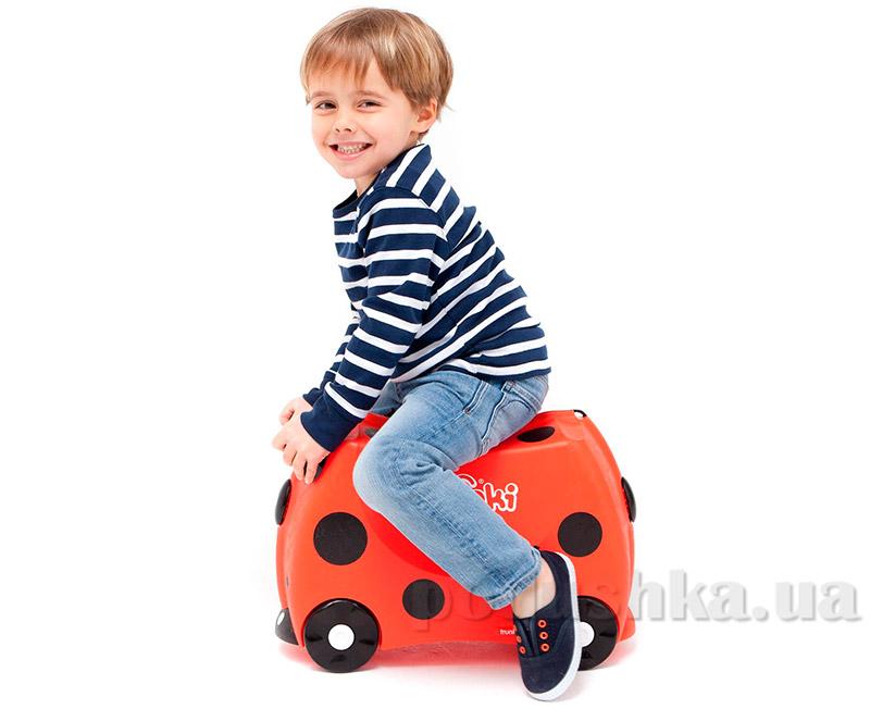 Детский дорожный чемоданчик Trunki Ladybug Harley TRU-L092