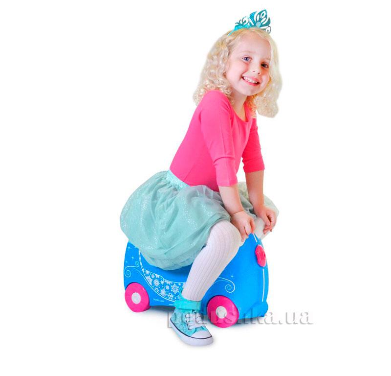 Детский дорожный чемоданчик Trunki Princess Pearl