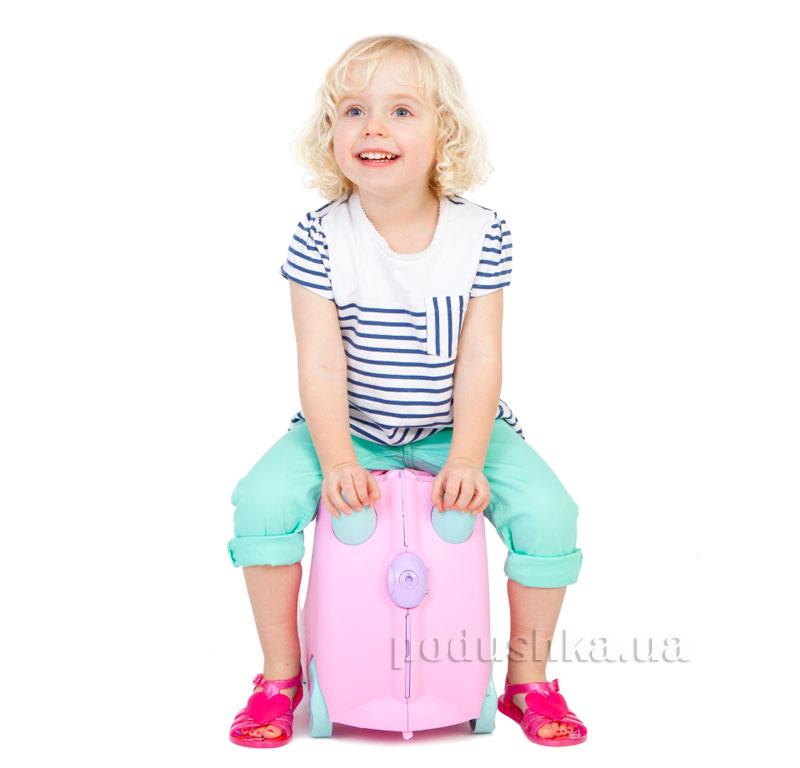 Детский дорожный чемоданчик Trunki Rosie Print Handles