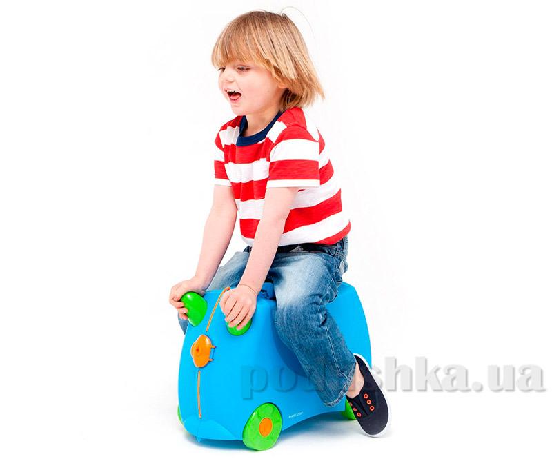 Детский дорожный чемоданчик Trunki Terrance TRU-B054