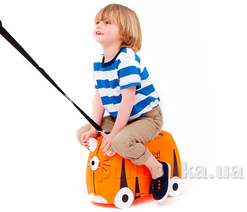 Детский дорожный чемоданчик Trunki Tiger Tipu TRU-T085