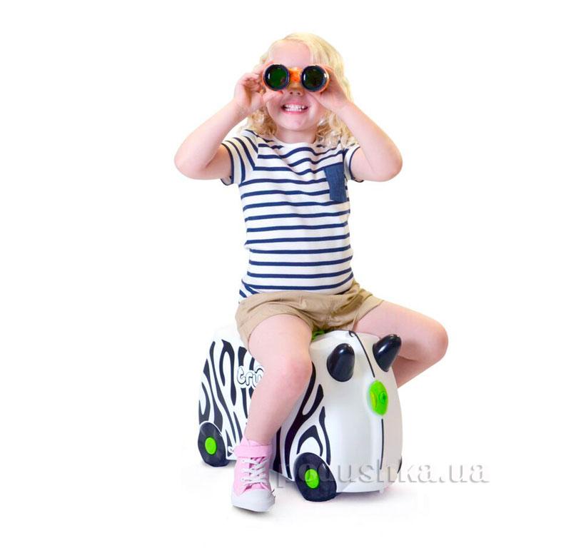 Детский дорожный чемоданчик Trunki Trunki Zebra Zimba