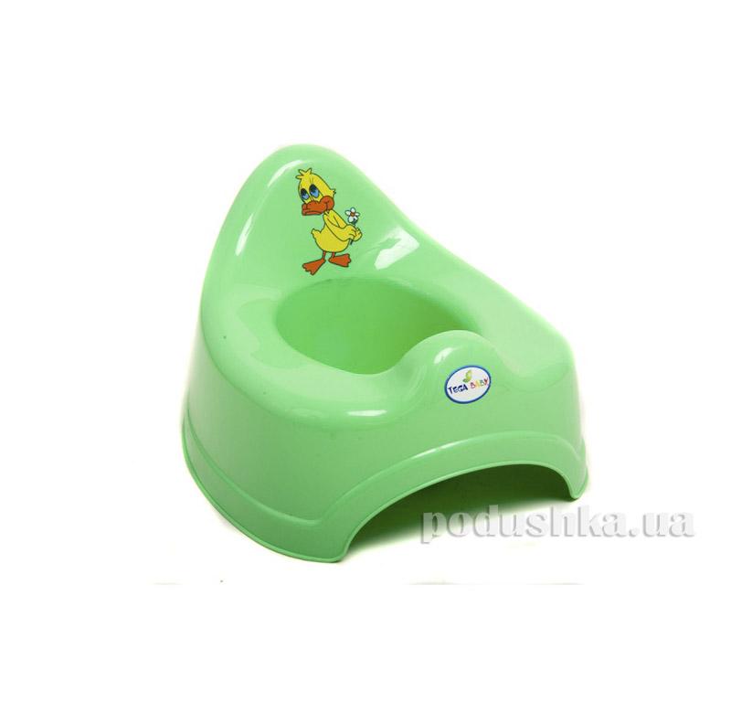 Детский горшок Утка Jambo Зеленый 08015019