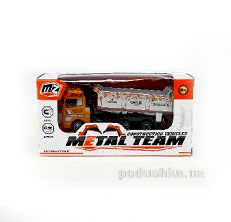 Детский грузовик Die-Cast 480963TP Metal Team