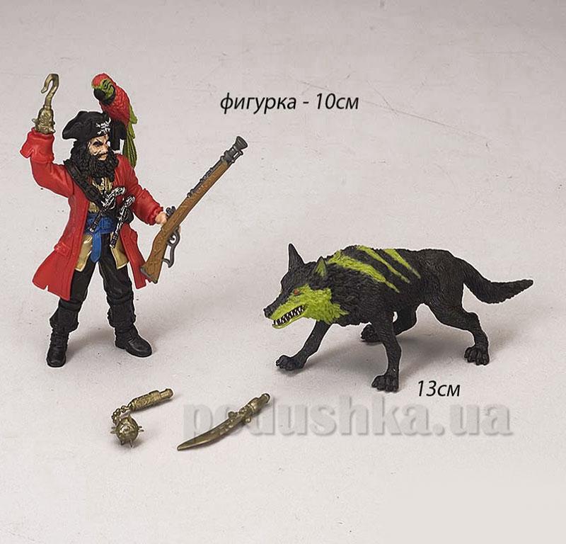 Детский игровой набор 3 Пират и собака Chap Mei 505101