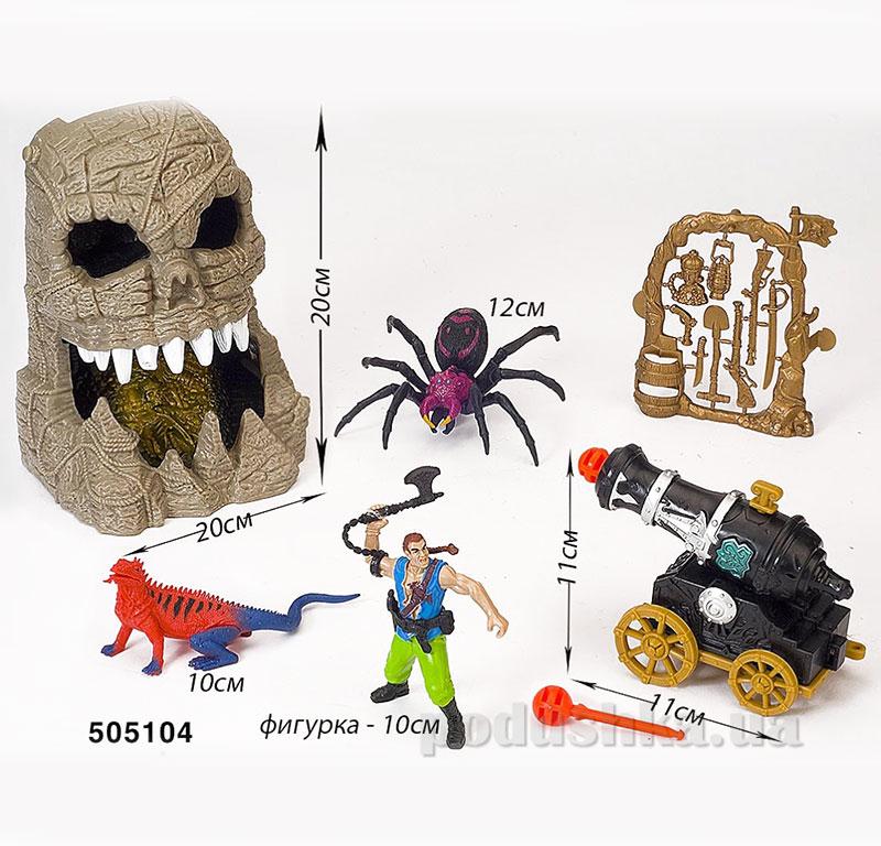 Детский игровой набор 3 Пираты Пещера Chap Mei 505104