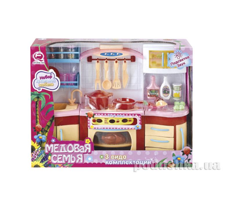 Детский игровой набор  Кухня  Медовая семья Qun Feng Toys 2801S/R