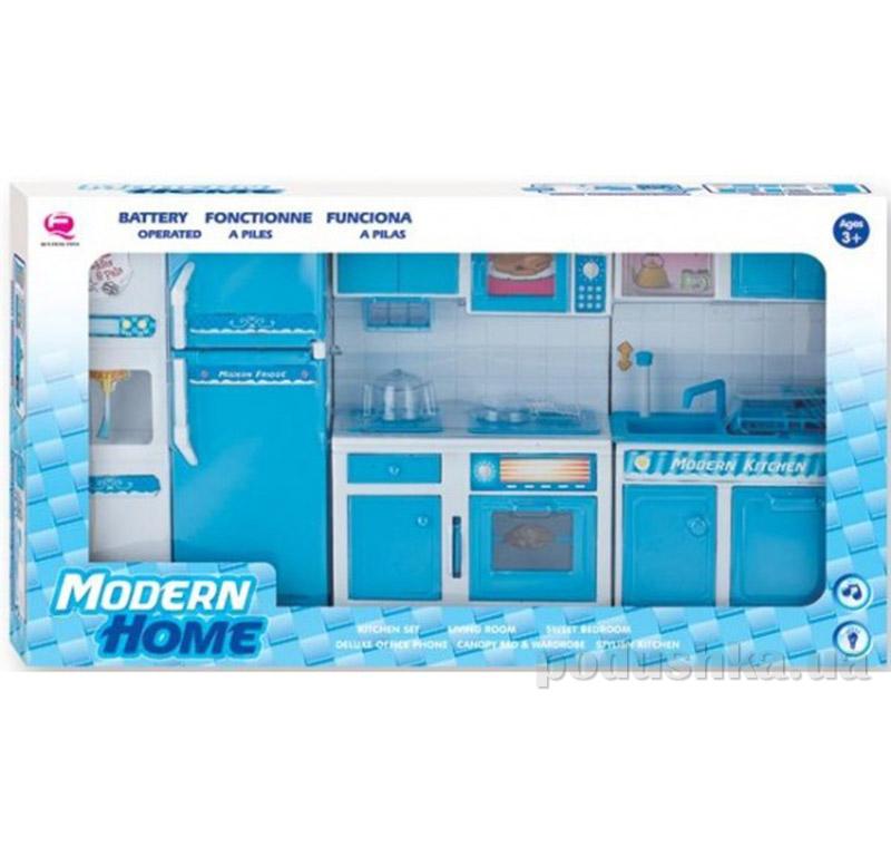 Детский игровой набор - Кухня в синем цвете