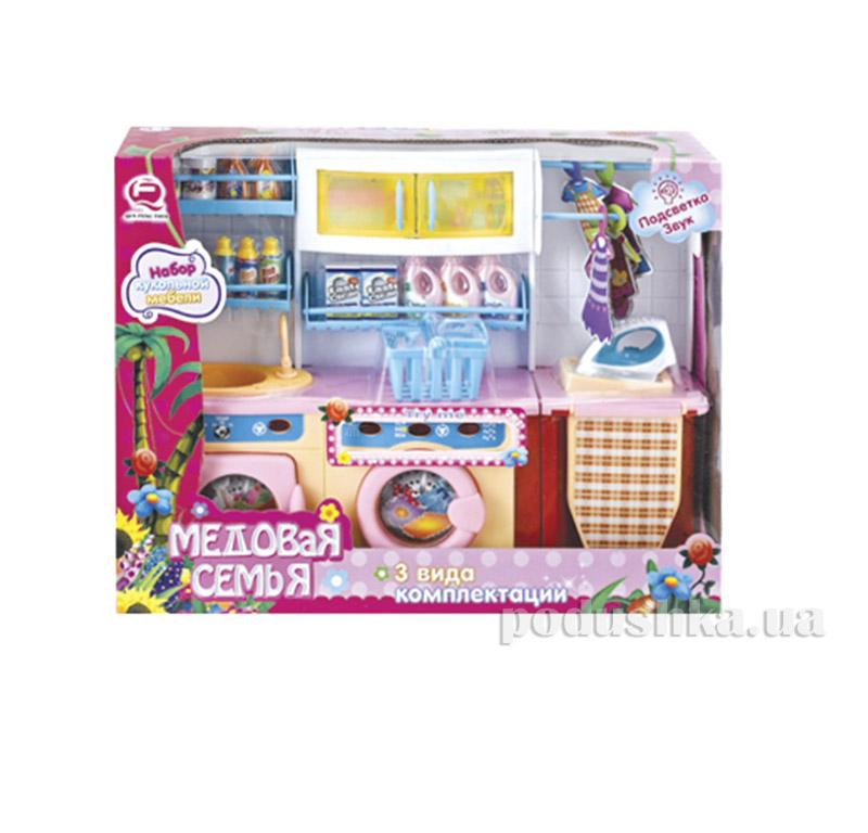 Детский игровой набор Кухня Медовая семья Qun Feng Toys 2802S/R