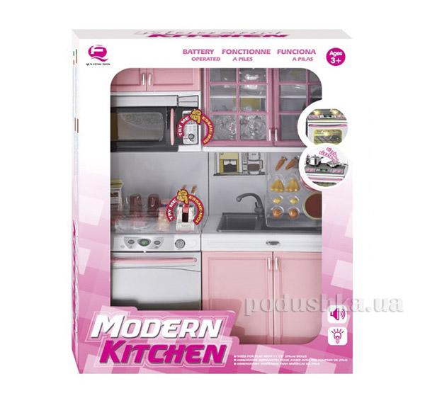 Детский игровой набор Кухня в розовом цвете  Qun Feng Toys 26216P