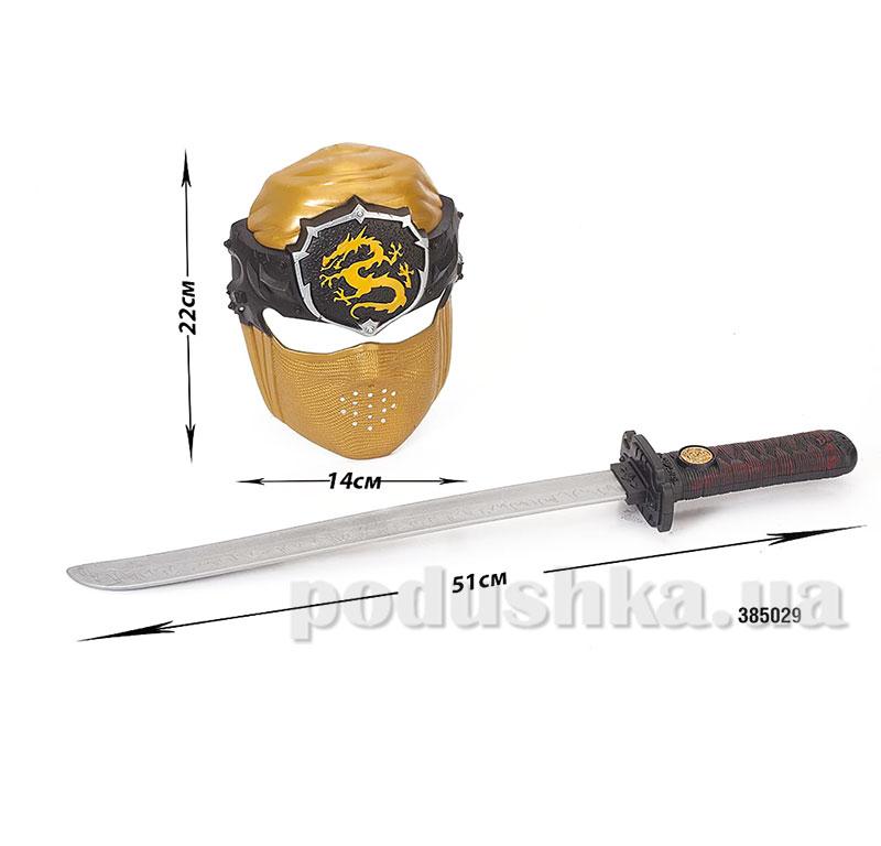 Детский игровой набор Маска и меч Chap Mei 385029