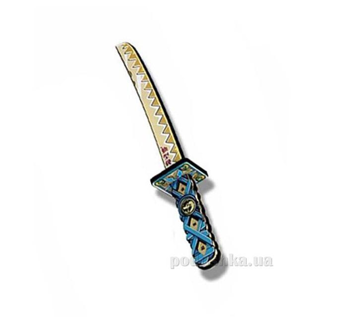 Детский игрушечный меч Ниндзя Giro голубой