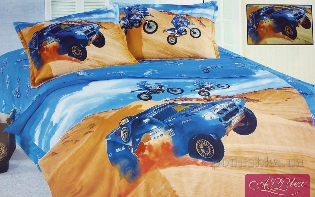 Детский комплект постельного белья Alltex 167 Гонки