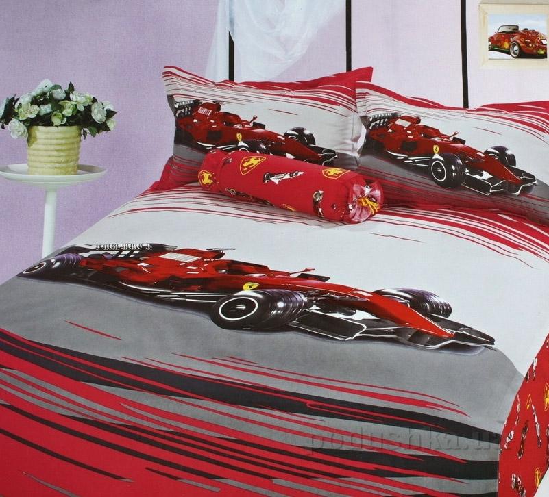 Детский комплект постельного белья Alltex 168 Машинка