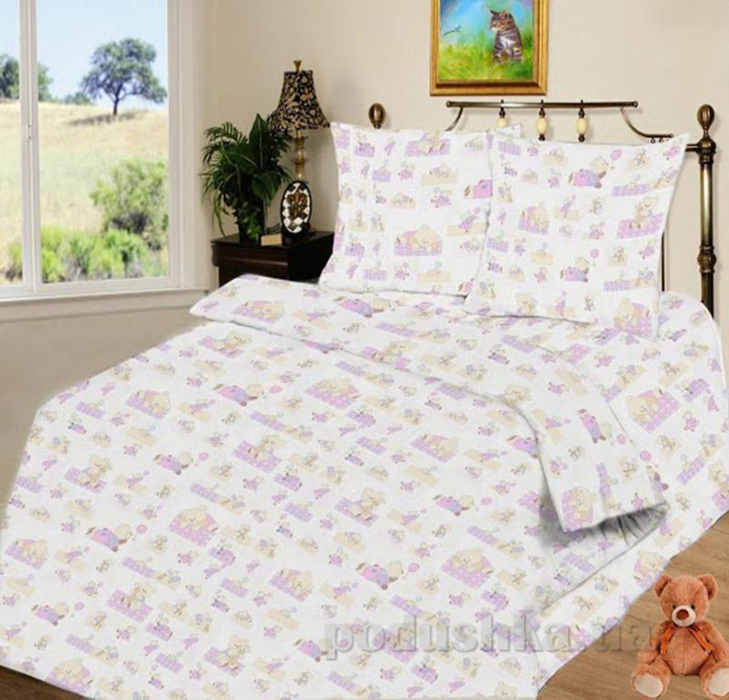 Детский комплект постельного белья Bears Party SoundSleep ранфорс