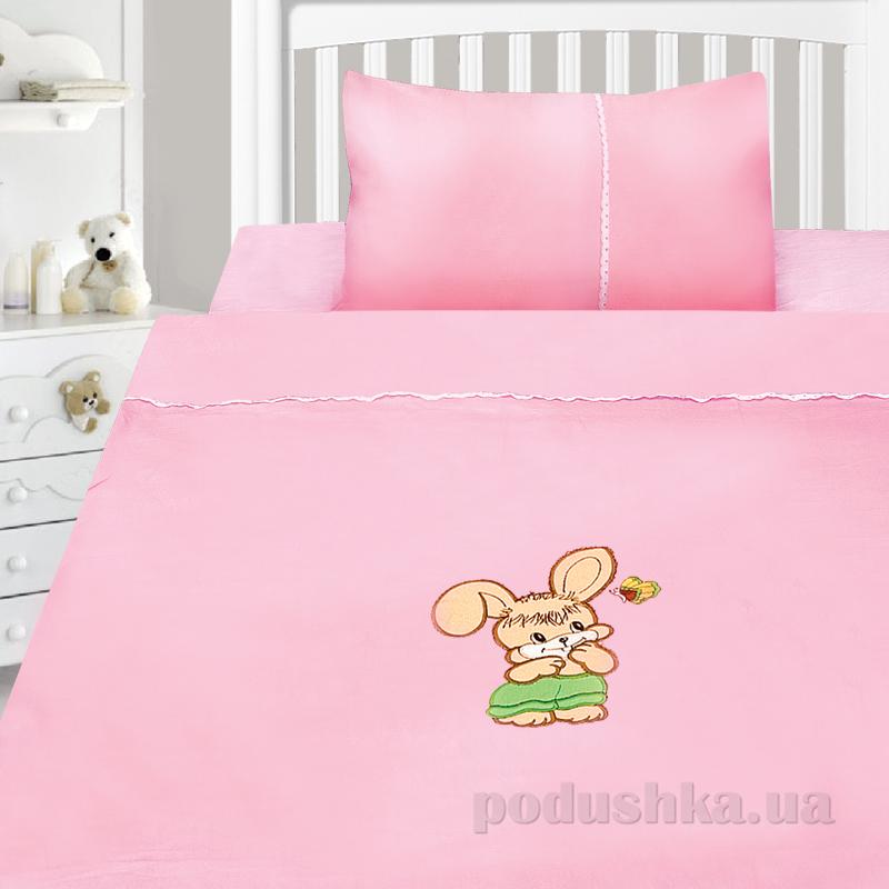 Детский комплект постельного белья сатин с вышивкой Ярослав v45m