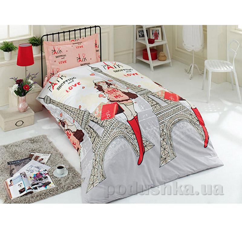 Детский комплект постельного белья в коробке Arya 1001467 Paris ранфорс