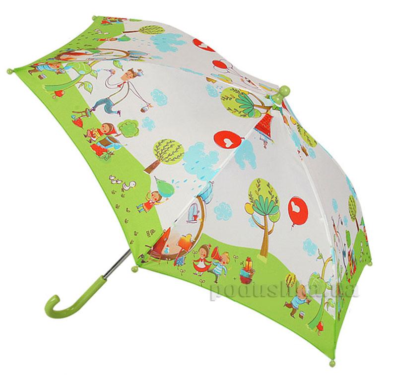 Детский механический зонт Airton Дождик 1551