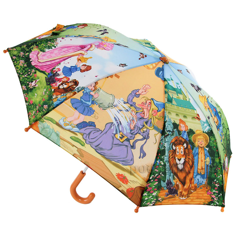 Детский механический зонтик Zest Приключения Элли 21565