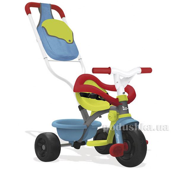 Детский металлический велосипед с багажником голубо-зеленый Smoby 740402   Smoby