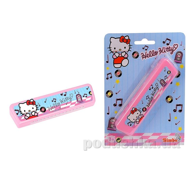 Детский музыкальный инструмент Гармоника Hello Kitty