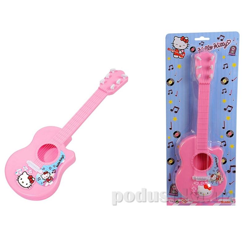 Детский музыкальный инструмент Гитара Hello Kitty