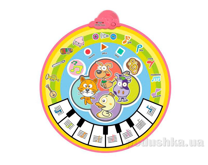 Детский музыкальный коврик 545A Potex