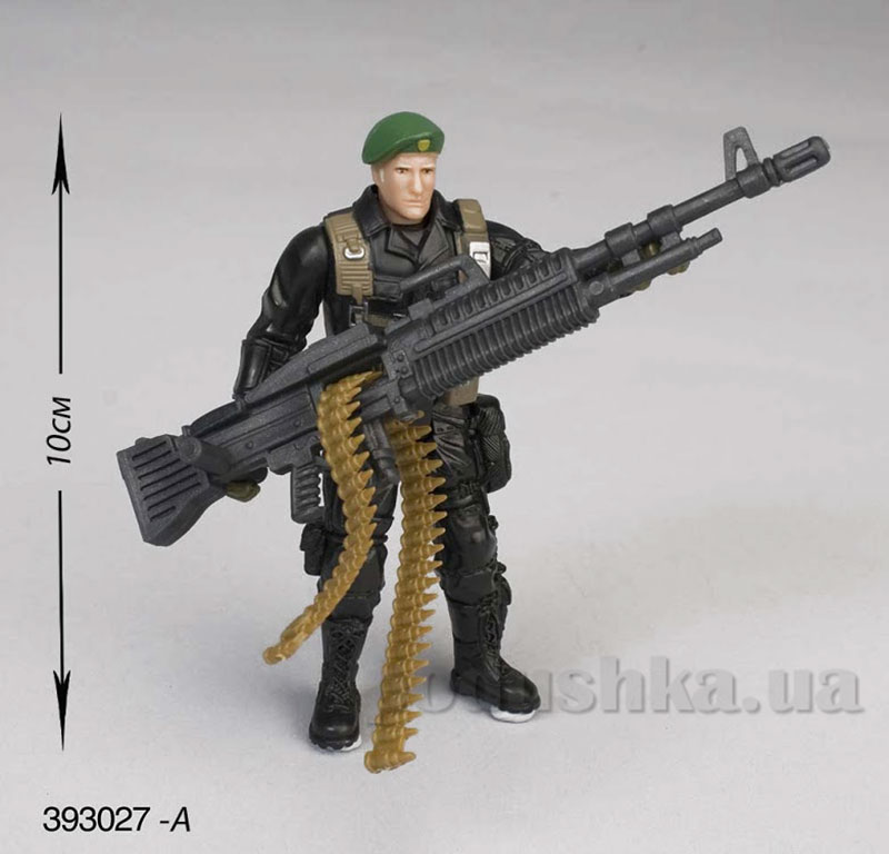Детский набор 7 Солдат с оружием Chap Mei 393027