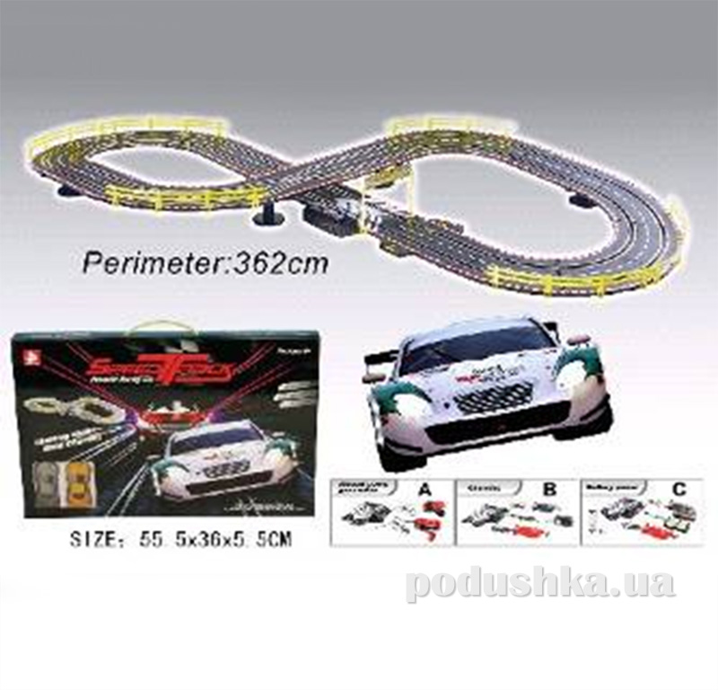 Детский набор Автотрек 384860TBR Speed Track