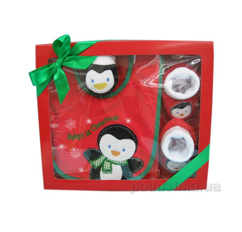 Детский набор для Нового года Пингвин AKT-BIB/2136SET