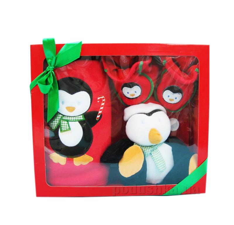 Детский набор для Нового года Пингвинчик AKT-K2148SET