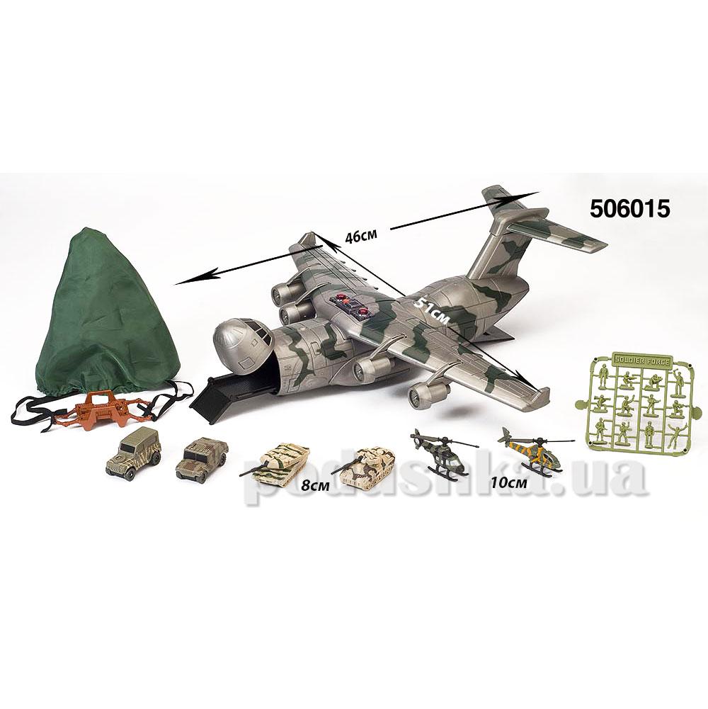 Детский набор игровой 7 Skyhawk - транспортный самолёт Chap Mei 506015