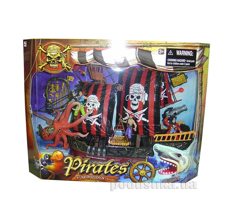 Детский набор Пираты 3 с фрегатом Chap Mei 505106