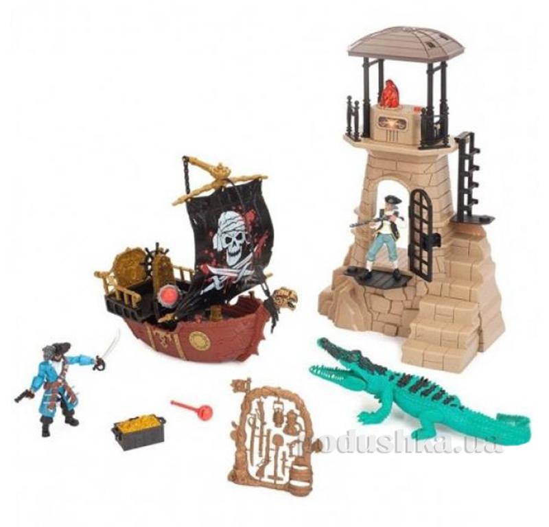 Детский набор Пираты 3 с пиратской лодкой Chap Mei 505131