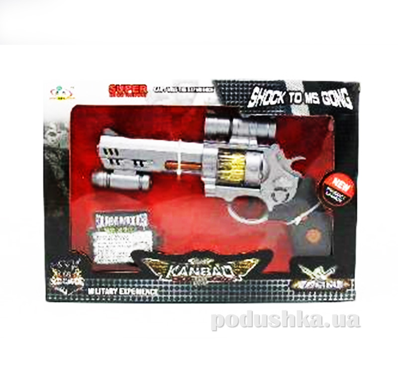 Детский револьвер со звуком и светом Star Gun 446963WGB