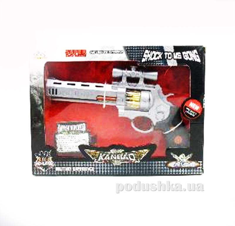 Детский револьвер со звуком и светом Star Gun 446964WGB
