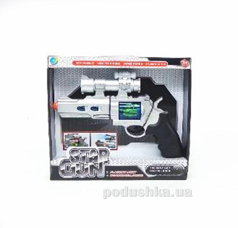 Детский револьвер со звуком и светом Star Gun 507190WGB