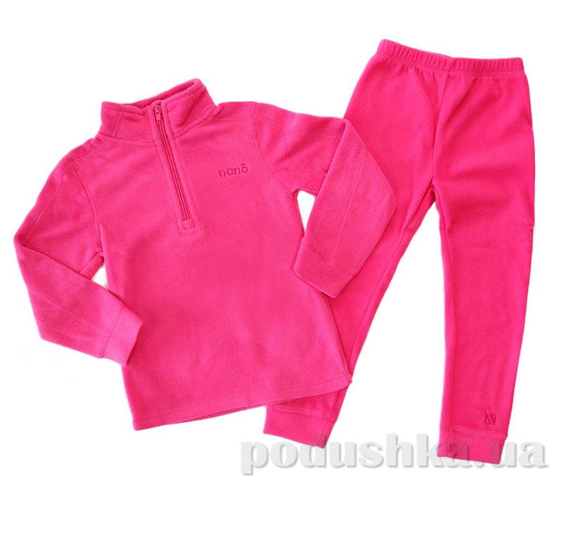 Детский спортивный костюм для девочки Nano F14 UW 600 Virtual Pink