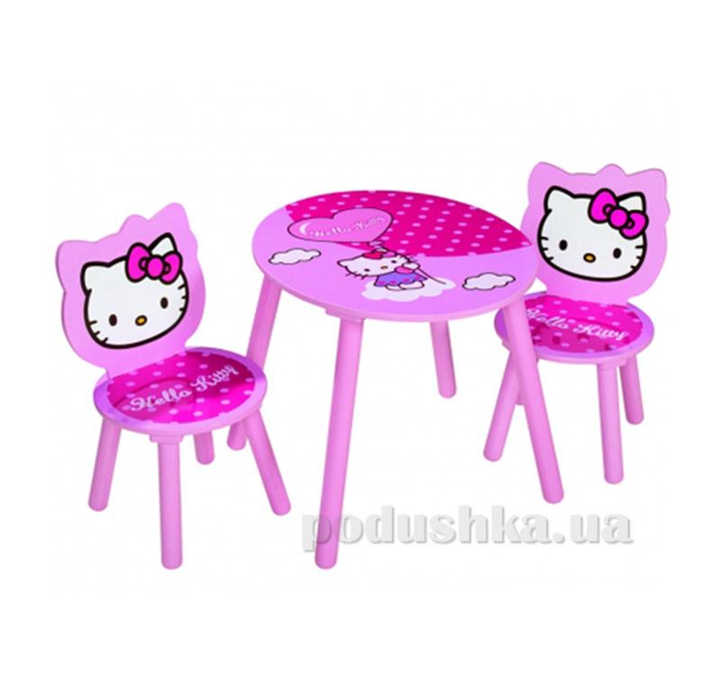 Детский столик и 2 стула Eichhorn Hello Kitty