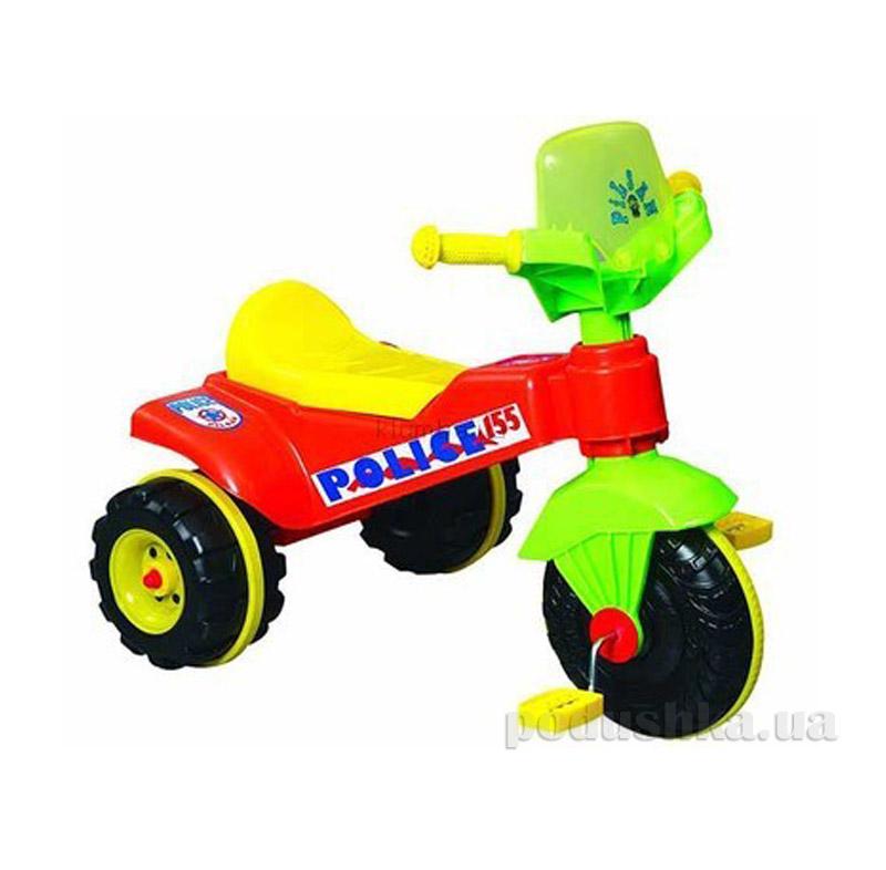 Детский велосипед 3-х колесный Pilsan Полиция 07-120