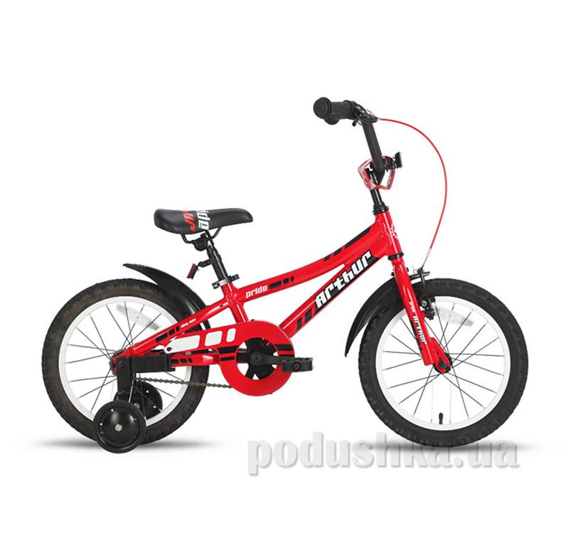 Детский велосипед Pride Arthur 2015 SKD-71-04 красный