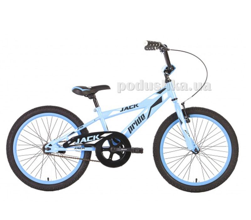 Детский велосипед Pride Jack 2014 сине-белый