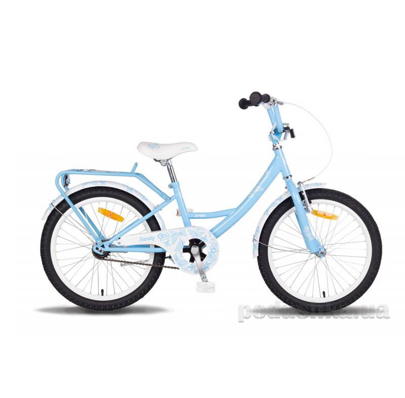Детский велосипед Pride Sandy 2014 сине-белый
