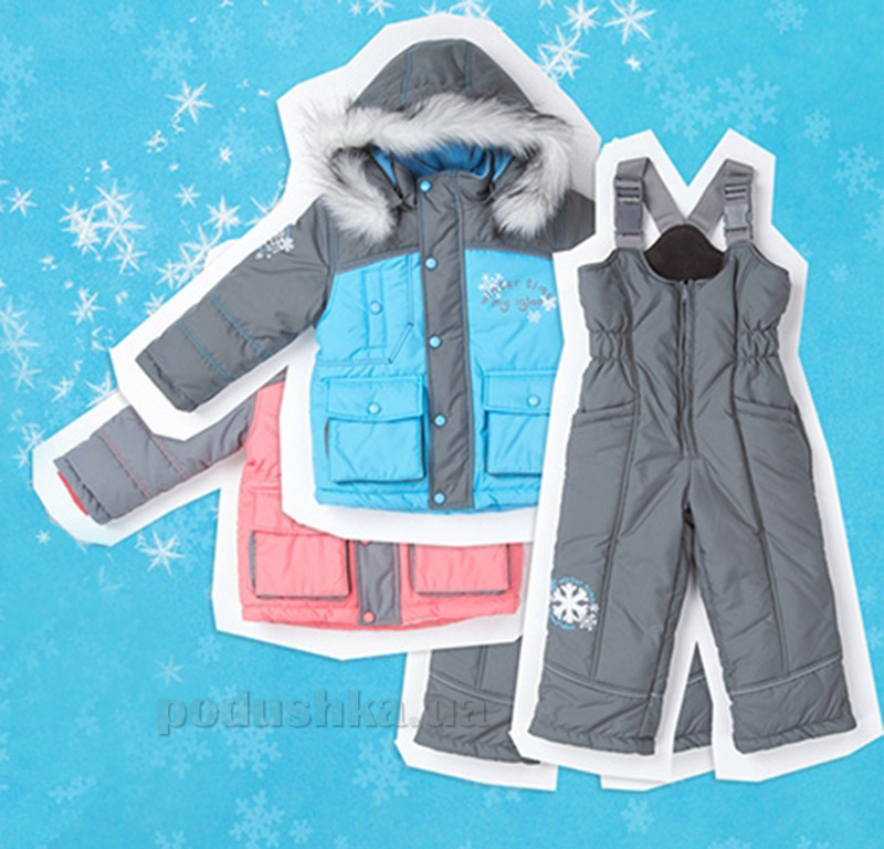 Детский зимний костюм Bembi КС370 для девочки