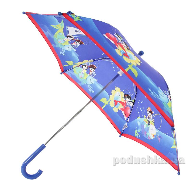 Детский зонтик-трость Морское приключение Airton 1651-7040