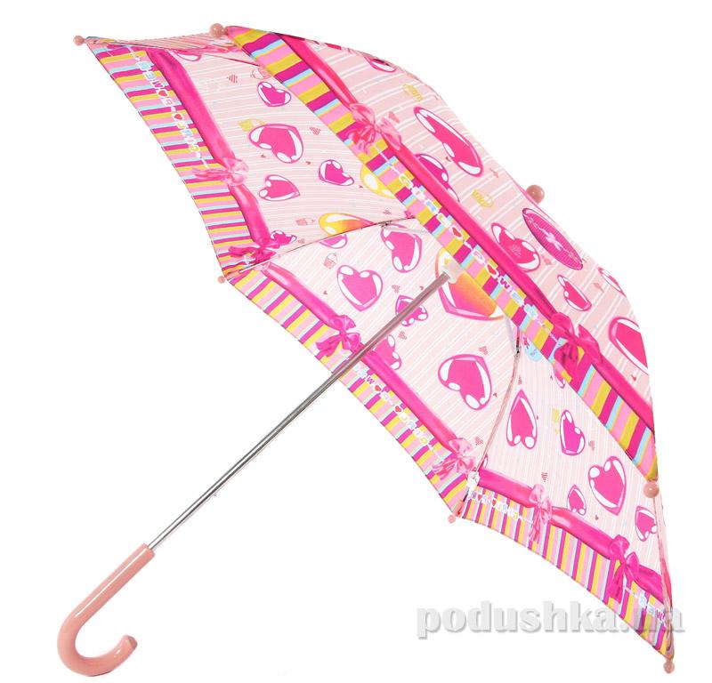 Детский зонтик-трость Сердечко Airton 1651-7041