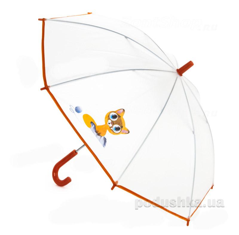 Детский зонтик-трость Airton Котик 1511