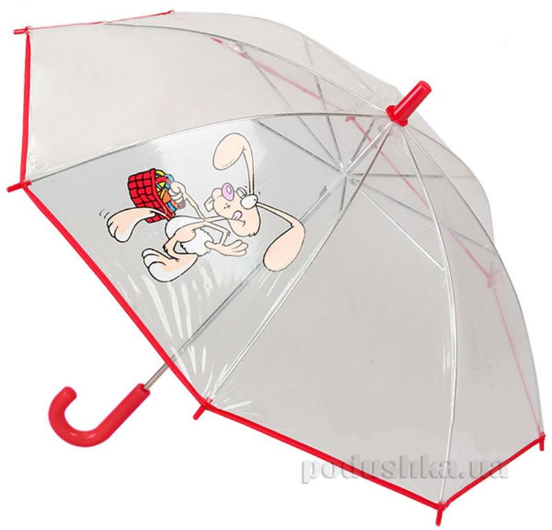 Детский зонтик-трость Airton Кролик с корзинкой 1511-1014