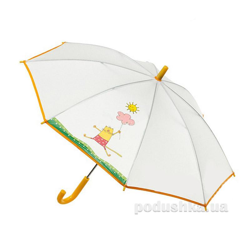 Детский зонтик-трость Airton Веселый котик 1511