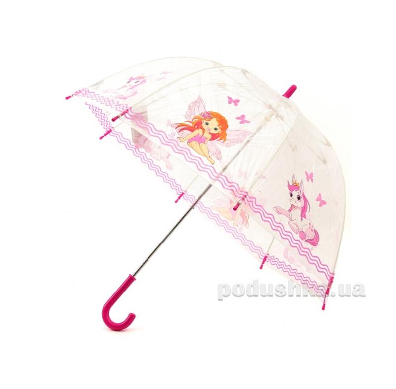 Детский зонтик-трость Фея Zest 51510